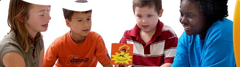 Children with Affirmation Card
