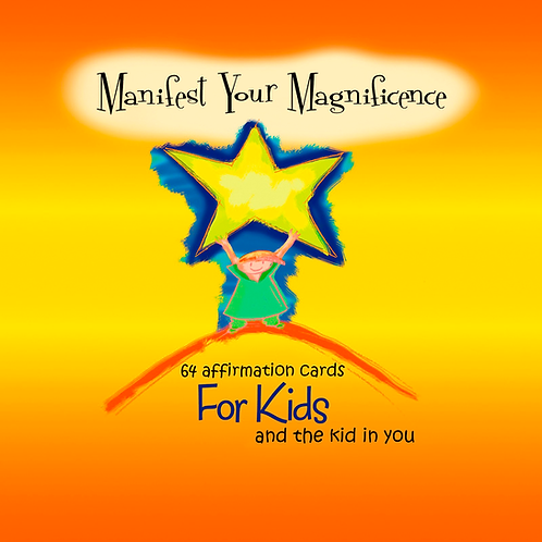 Manifest Your Magnificence Affirmation Cards