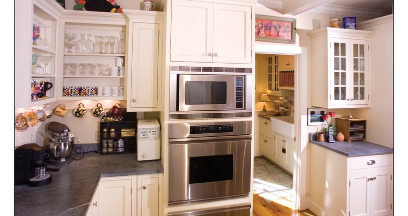 Kitchen With Extra Room