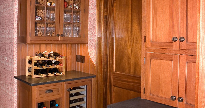 A wine cellar to envy.