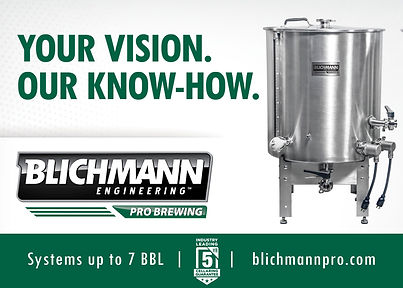 Your Vision. Our Know-How. Blichmann Engineering