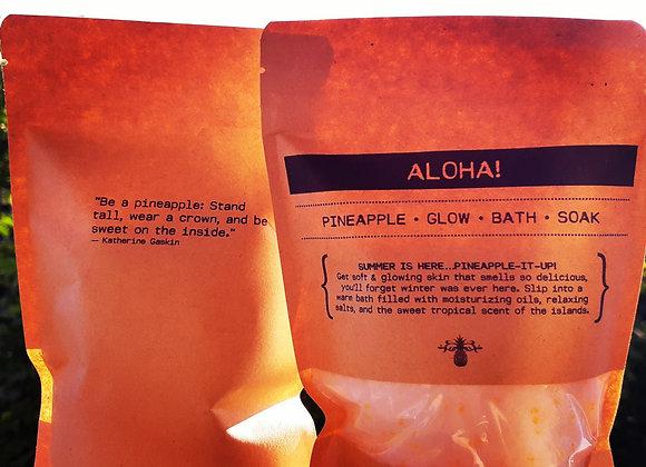 ALOHA! | Pineapple Glow Bath Soak