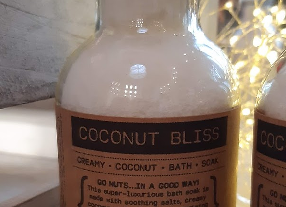 COCONUT BLISS | Creamy Coconut Bath Soak