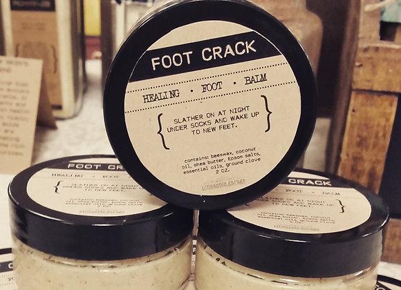 FOOT CRACK | Healing foot balm