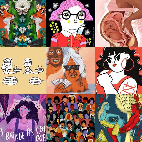 10 ilustradoras para seguir em 2020