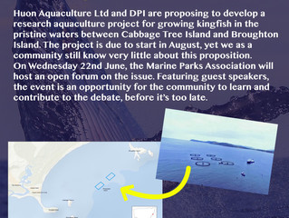 Port Stephens Fish Farms & Aquaculture Community Forum