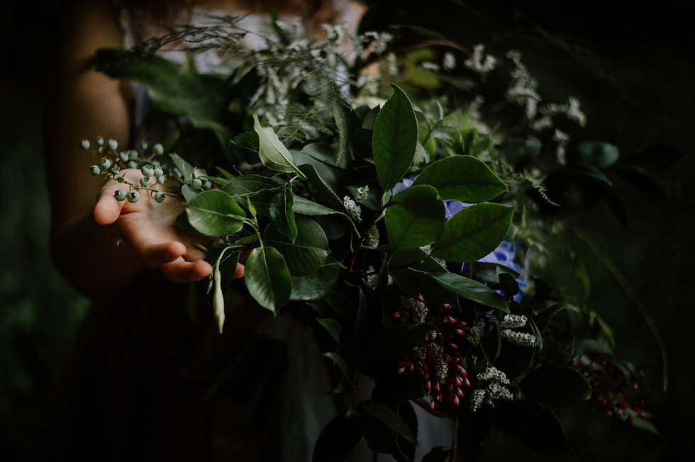Sottofondi floreali fiorista per matrimonio bouquet boho naturale greenery