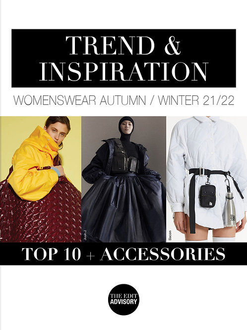 AW21/22 Top 10 & Accessories: Trend & Inspiration Womenswear