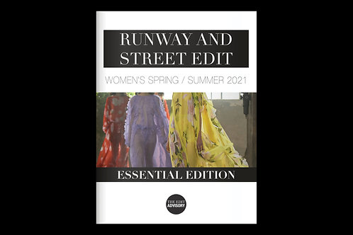 SS21 Women's Runway and Street Trends, Essential Edition