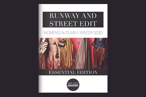 Essential Edition: A/W 2020 Women's Runway & Street Edit