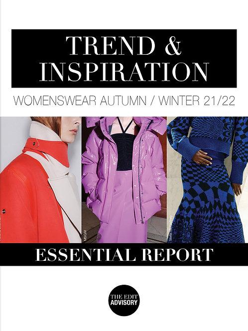 AW21/22 Essential Edition: Trend & Inspiration Womenswear