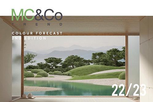 2022/2023 Interior Colour Forecast