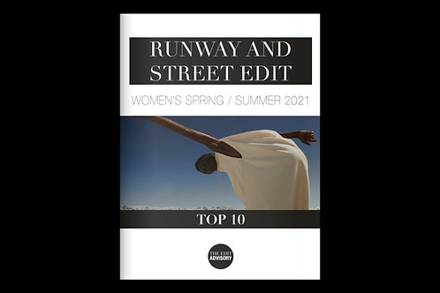 The Runway and Street Edit SS21: Top 10