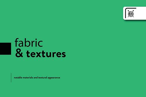 TRND FW20/21 Womens Fabric & Textures