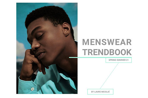 SS21 Menswear - The Complete Trendbook