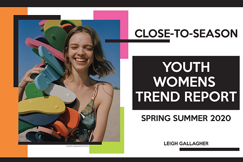 SS20/21 Close-To-Season Youth Womens report
