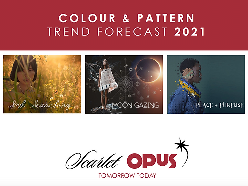 SS21 Interiors Colour & Pattern Trend Forecast Audio Presentation