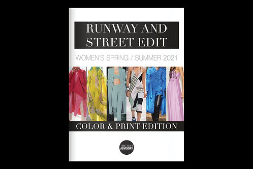 The Runway and Street Edit SS21: COLOR & PRINT EDITION