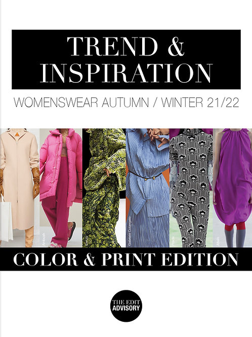 AW21/22 Color & Print Edition: Trend & Inspiration Womenswear