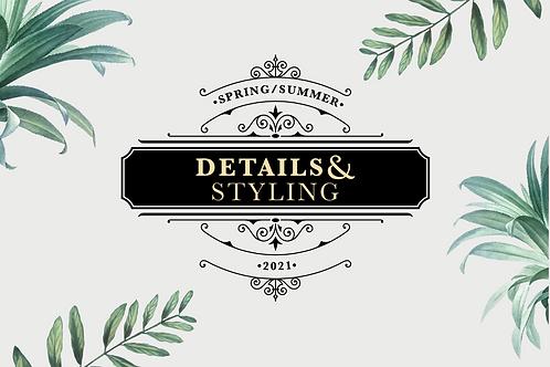 SS21 Womenswear Key Details & Styling eBook