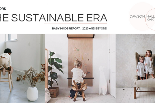The Sustainable Era / Kids Interiors report