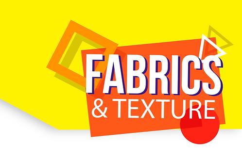 trndJNR FW20/21 Juniors market Fabric & Textures