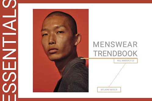 FW21/22 Menswear Essentials Trendbook