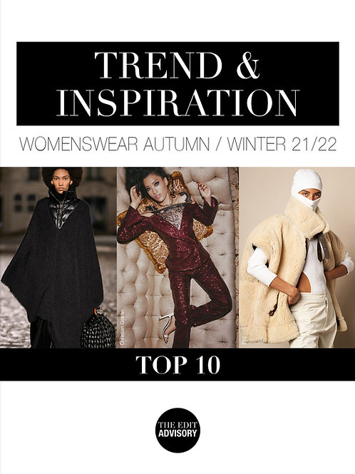AW21/22 Top 10: Trend & Inspiration Womenswear