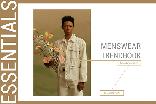 SS22 Menswear Forecast Essential Trendbook