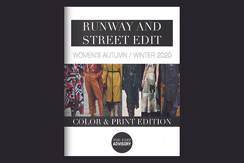 Color & Print: A/W 2020 Women's Runway & Street Edit