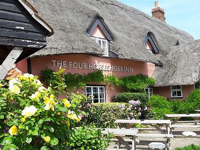 The Four Horseshoes Inn Thornham Magna Suffolk