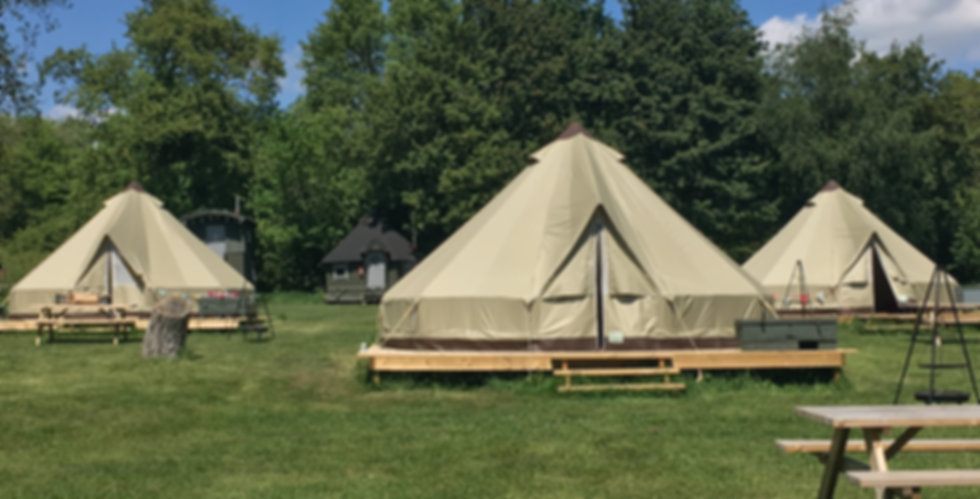 Furnished Swattesfield Bell Tents