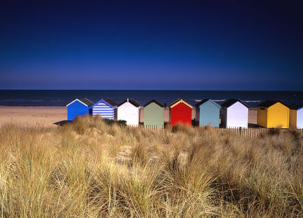 Southwold Beach huts suffolk