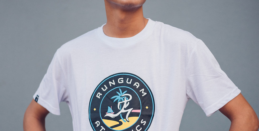 PR Shirt- Sunset Seal - White UNISEX