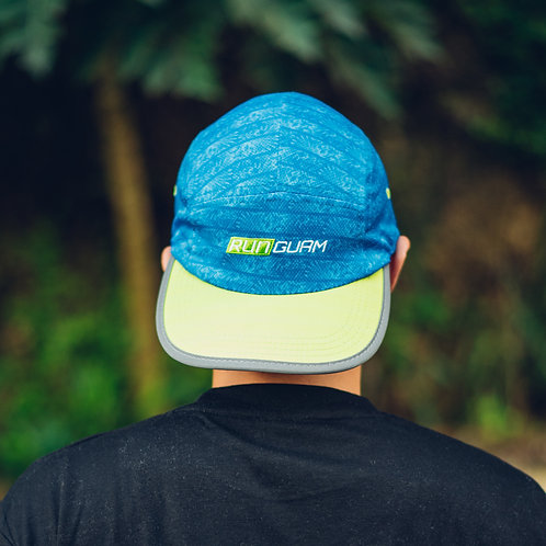 RNG 5 panel Hat - Blue/Electric