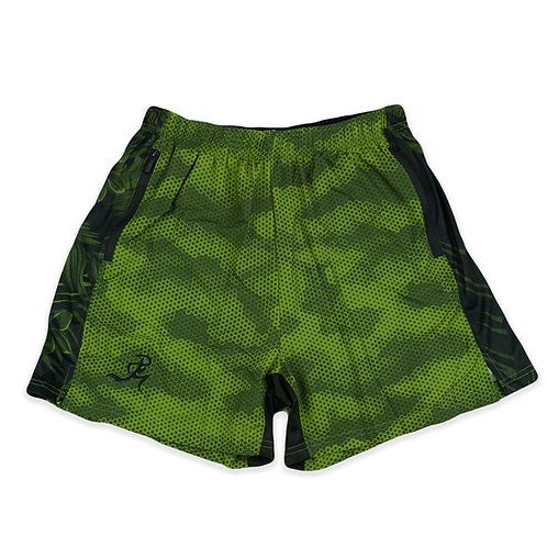 "RNG 2-in1 shorts- (5"") Olive Green"