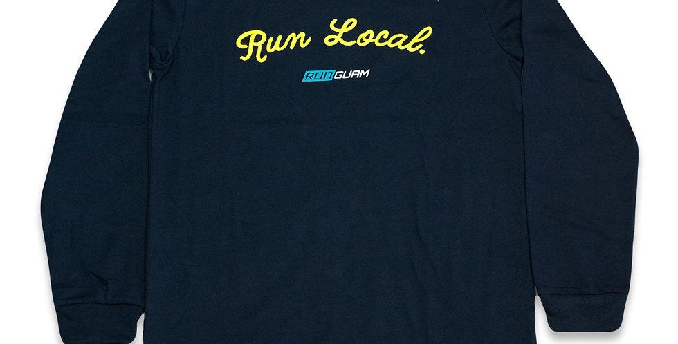 PR LS Shirt- Run Local - UNISEX