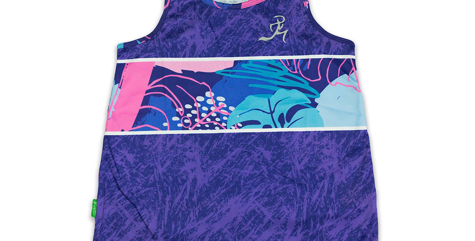 RNG Relaxed Fit Singlet- Violet - Women's