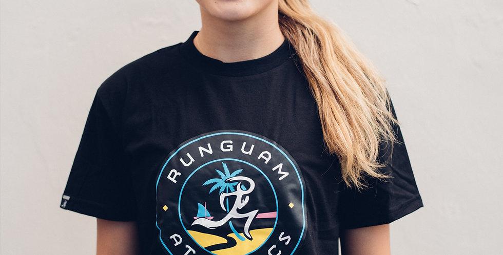 PR Shirt- Sunset Seal - Black UNISEX