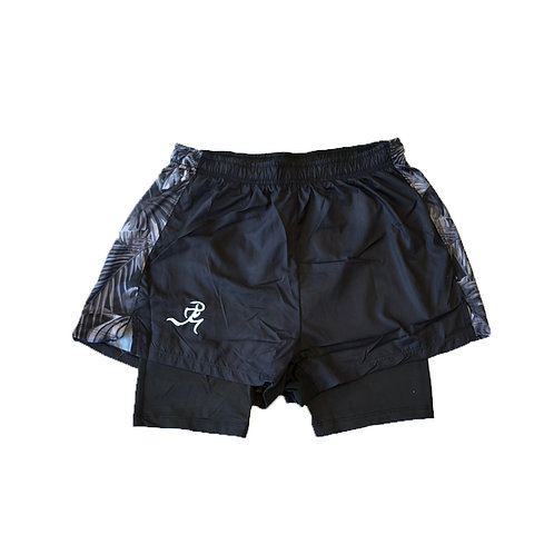 """RNG 2-in-1 shorts (3"""") - Black"""
