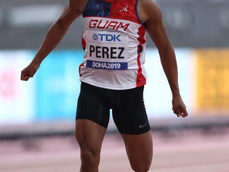 Perez Finishes Season at World Athletics Championships
