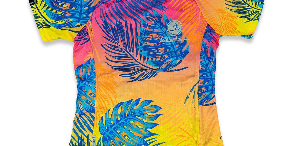 DRIKWIK Short Sleeve - Loud Tropical - Women's