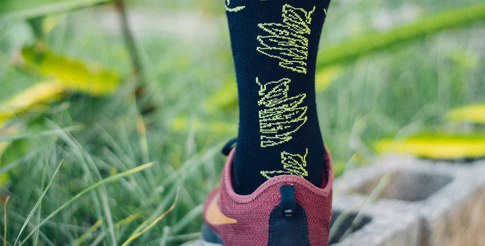 RNG Socks- Mid (Lemai/Breadfruit leaves)