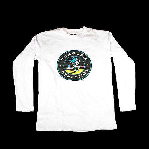 PR LS Shirt- Sunset Seal - White UNISEX