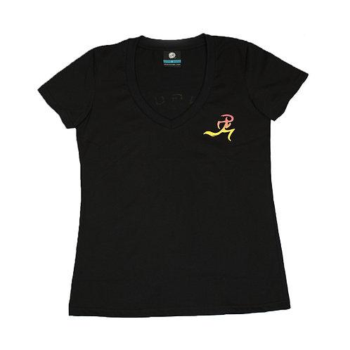 V-neck Shirt- Sunset WOMEN'S