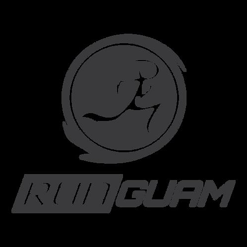 Run Guam Vinyl Decal