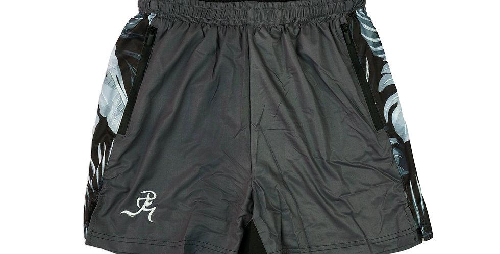 "RNG 2-in-1 shorts- (5"") Dark Gray w/ Pockets"