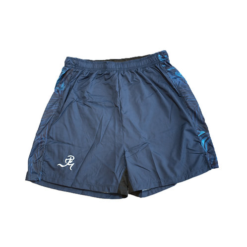 "RNG 2-in1 shorts- (5"") Deep Blue"