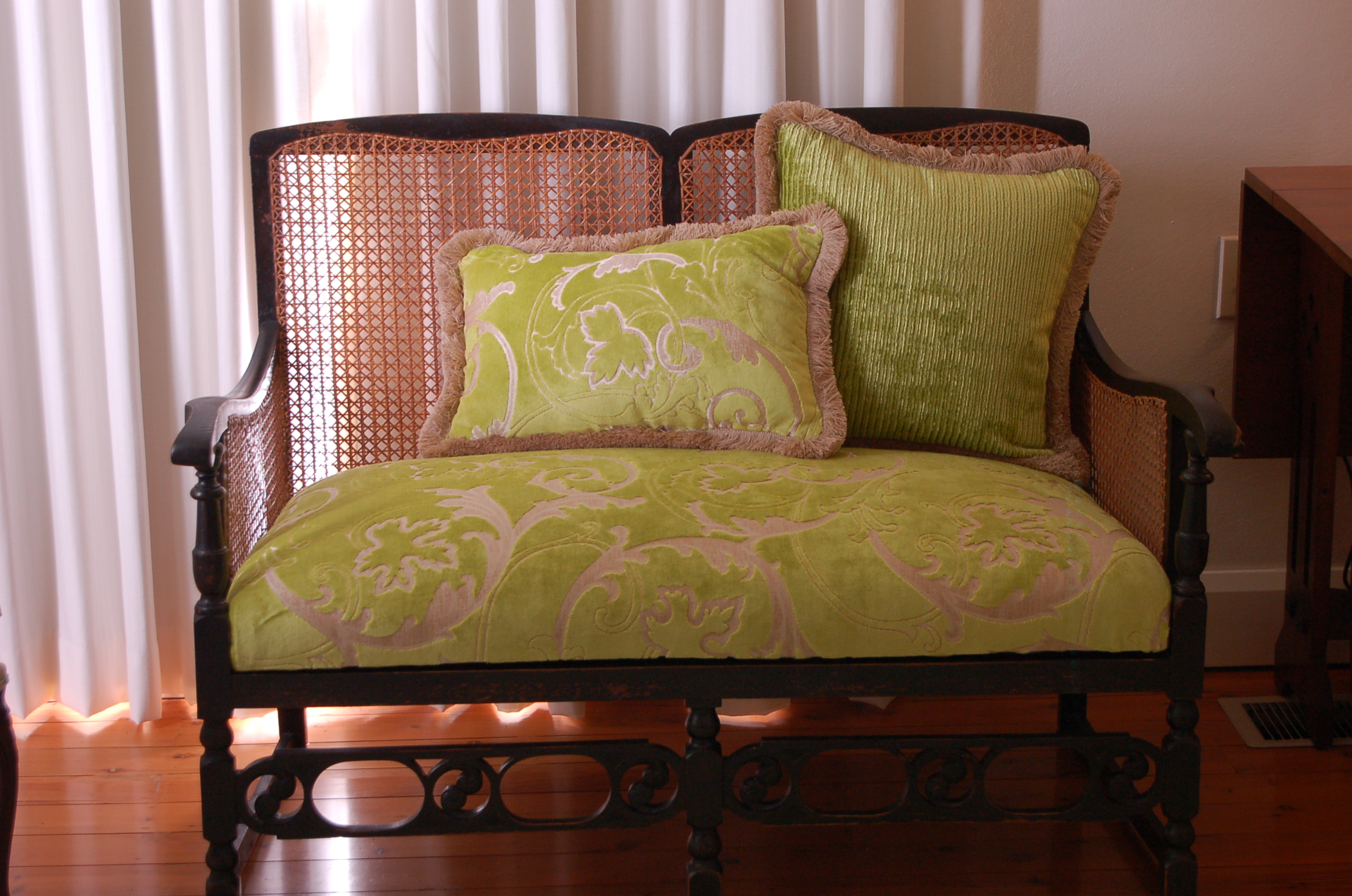 scatter cushions and lounge recover
