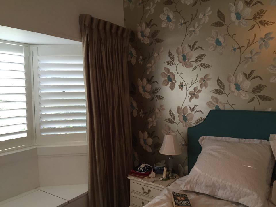 floral metallic wallpaper